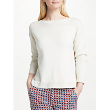 Buy Weekend MaxMara Bondone Jumper, Ivory Online at johnlewis.com