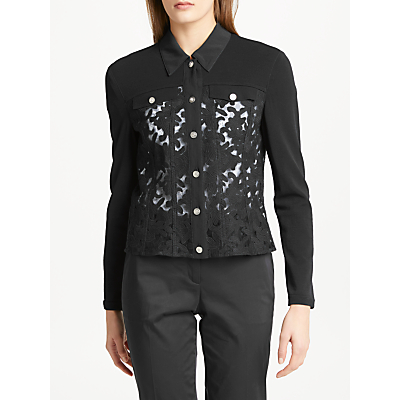 Marc Cain Lace Jacket, Navy