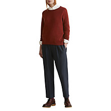 Buy Toast Cashmere Wool Jumper, Chestnut Red Online at johnlewis.com