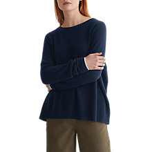 Buy Toast Cashmere Wool Jumper, Navy Online at johnlewis.com