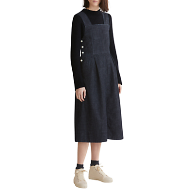 Toast Denim Pinafore Dress, Blue