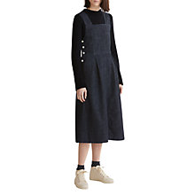 Buy Toast Denim Pinafore Dress, Blue Online at johnlewis.com