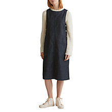 Buy Toast Denim Sleeveless Workwear Dress, Blue Online at johnlewis.com
