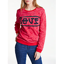 Buy Maison Scotch Love Sweater, Red Online at johnlewis.com