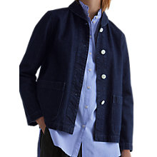Buy Toast Denim Workwear Jacket, Indigo Online at johnlewis.com