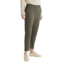 Buy Toast Twill Pull On Trousers, Moss Online at johnlewis.com