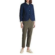 Buy Toast Cotton Twill Jacket, Indigo Online at johnlewis.com