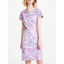 Buy Marc Cain Printed Bodycon Neoprene Dress, Pink/Grey Online at johnlewis.com