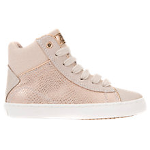 Buy Geox Children's J Kilwi Trainers, Pink Online at johnlewis.com