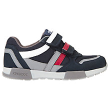 Buy Geox Children's J Alfie Shoes, Navy Online at johnlewis.com