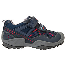 Buy Geox Children's Savage Waterproof Shoes, Navy Online at johnlewis.com