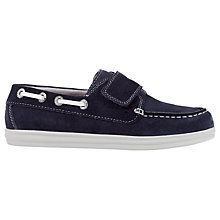 Buy Geox Children's J Anthor Rip-Tape Shoes, Navy Online at johnlewis.com