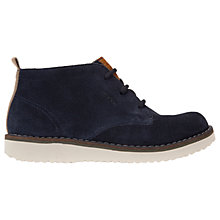 Buy Geox Children's J New Wong Boots, Navy Online at johnlewis.com