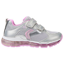 Buy Geox Children's J Android G Trainers Online at johnlewis.com
