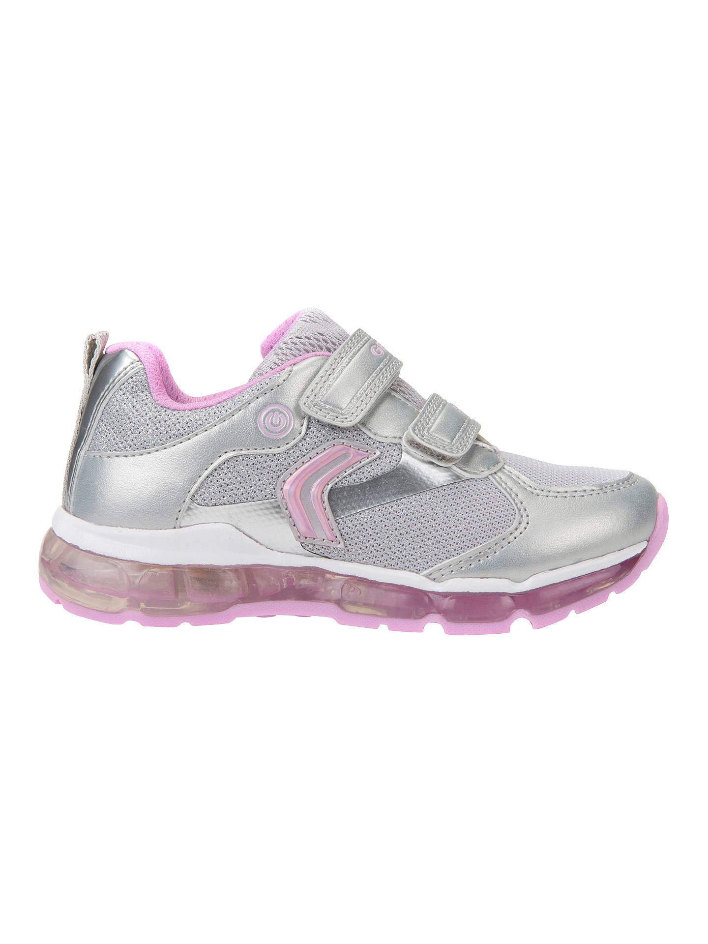 666597992558 Buy Geox Children's J Android G Trainers, Pink/Silver, 26 Online at  johnlewis ...