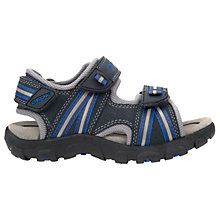 Buy Geox Children's Junior Strada Sandals, Navy Online at johnlewis.com