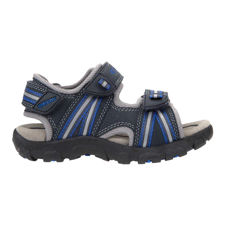 BuyGeox Children's Junior Strada Sandals, Navy, 26 Online at johnlewis. ...