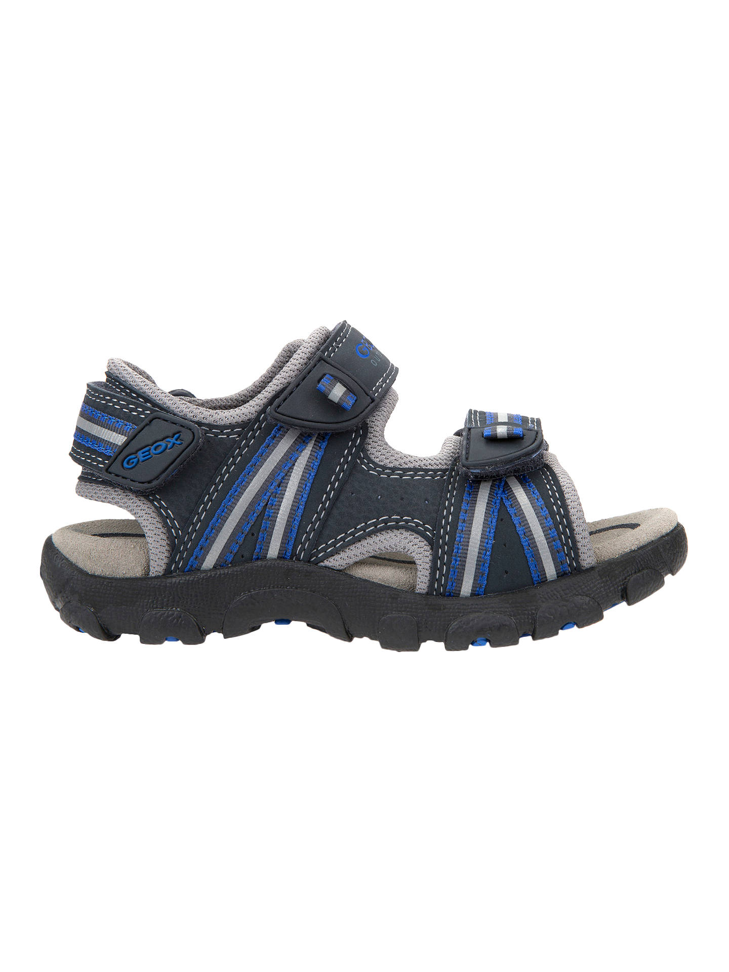 98c5d5b3027 Buy Geox Children's Junior Strada Sandals, Navy, 26 Online at johnlewis. ...