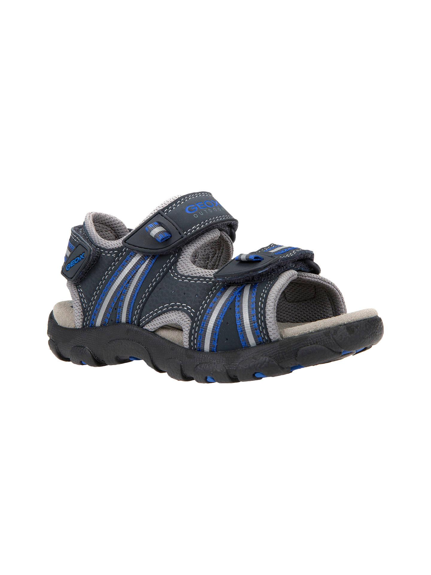 9c825a16874 ... Buy Geox Children's Junior Strada Sandals, Navy, 26 Online at  johnlewis. ...