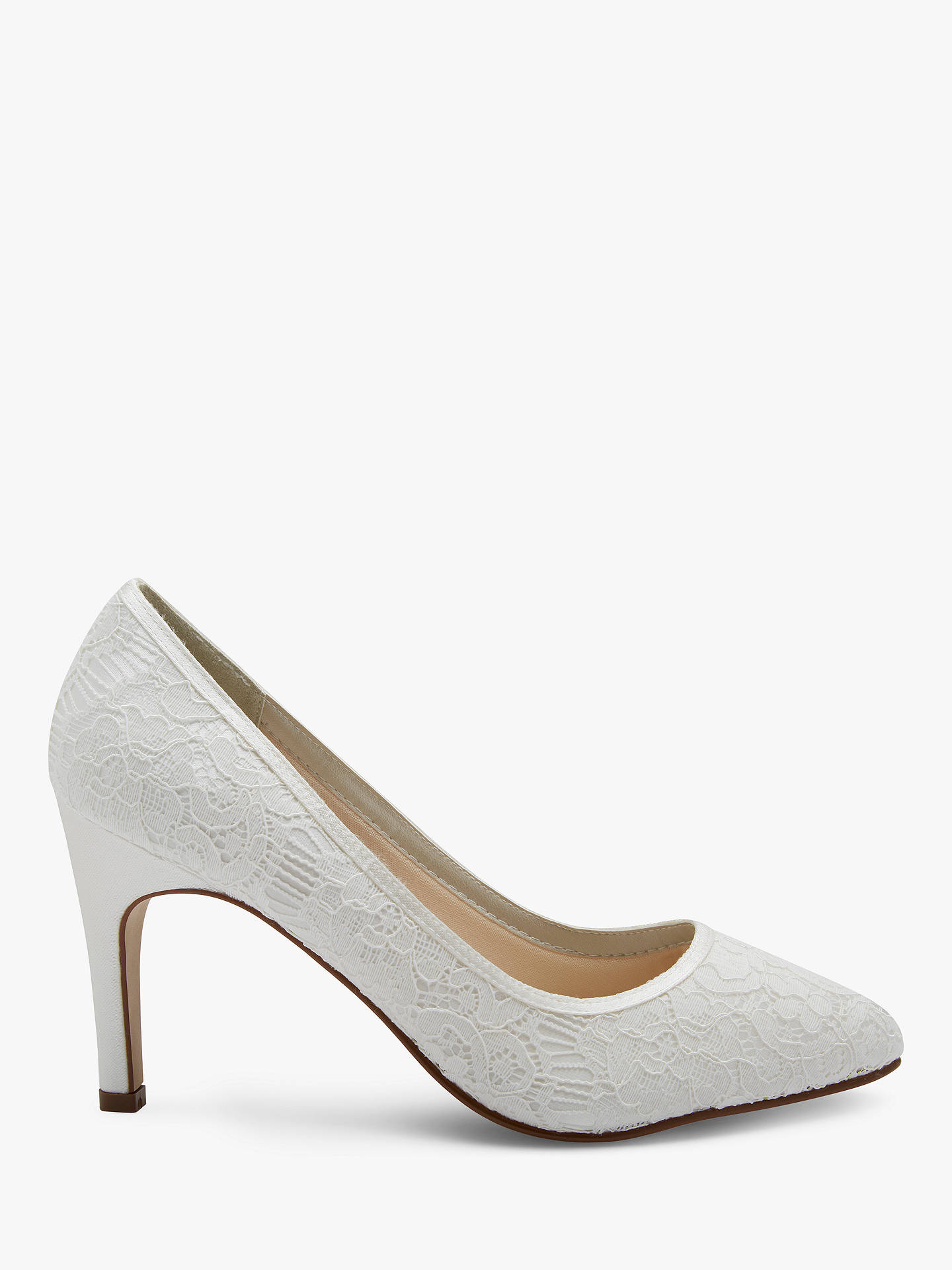 Rainbow Club Alexis Pointed Toe Court Shoes Ivory At John Lewis