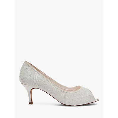 Rainbow Club Ava Peep Toe Court Shoes, Ivory