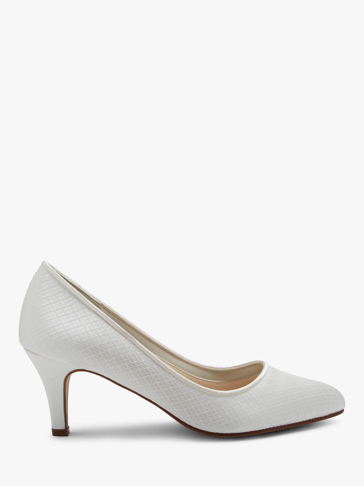 BuyRainbow Club Brooke Court Shoes, Ivory, 3 Online at johnlewis.com