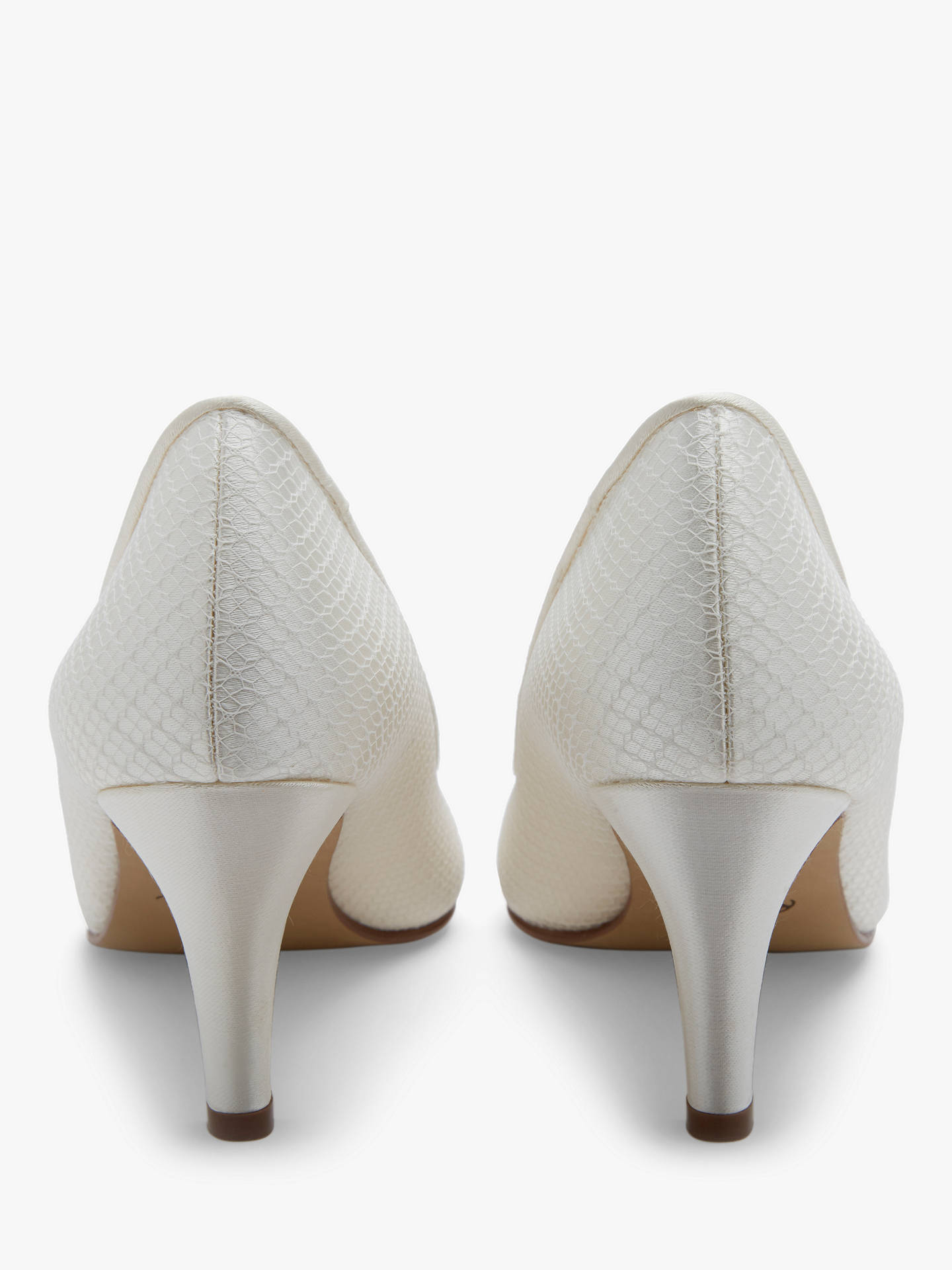 Buy Rainbow Club Brooke Court Shoes, Ivory, 3 Online at johnlewis.com