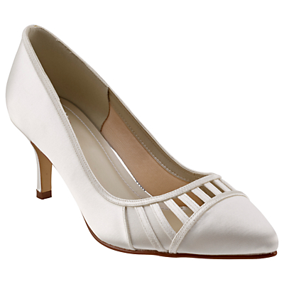 Rainbow Club Danni Cut Out Court Shoes, Ivory