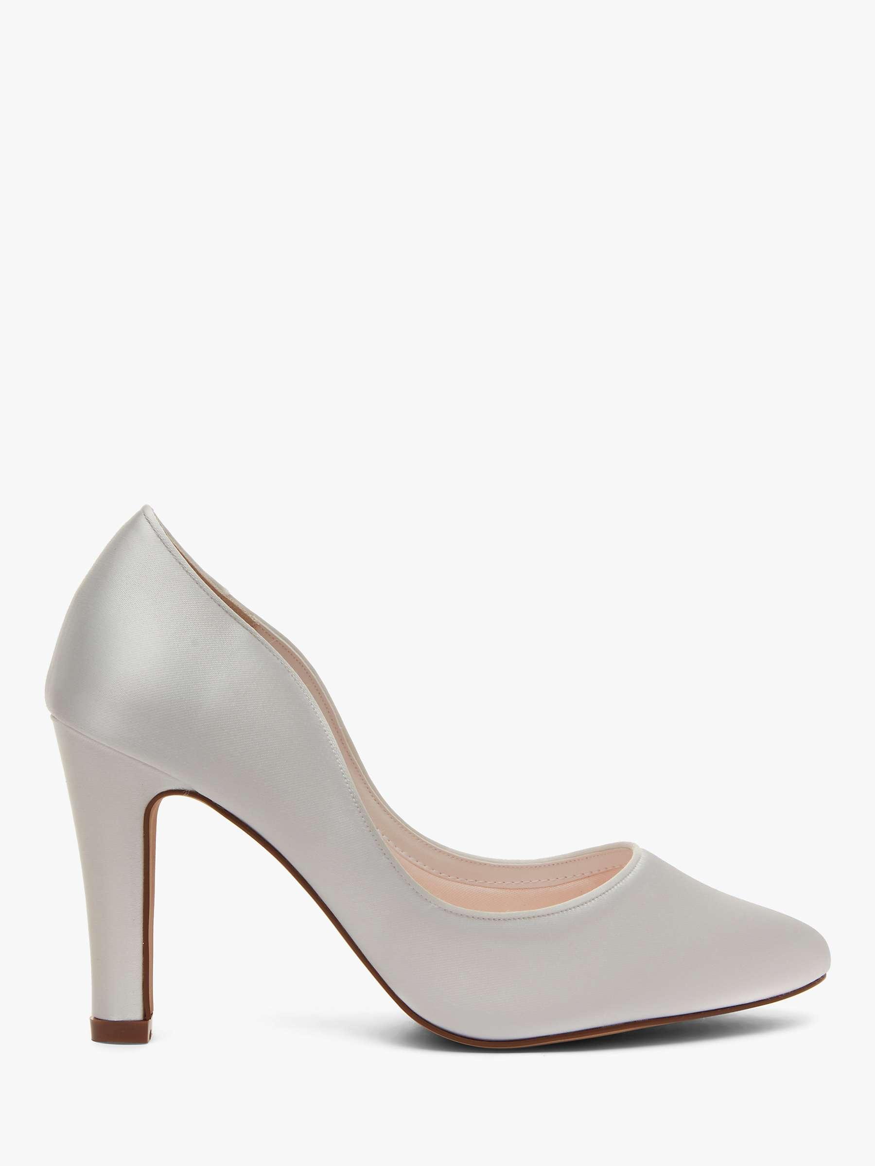 Rainbow Club Ebony Court Shoes Ivory