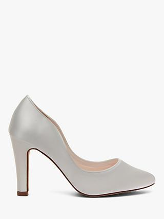 Rainbow Club Ebony Court Shoes, Ivory