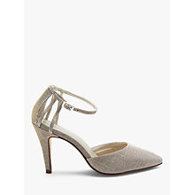 Buy Rainbow Club Kennedy Two Part Court Shoes, Gold Online at johnlewis.com