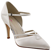 Buy Rainbow Club Fleur Pointed Toe Court Shoes, Ivory Online at johnlewis.com