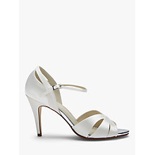 Buy Rainbow Club Sue Peep Toe Sandals, Ivory Online at johnlewis.com