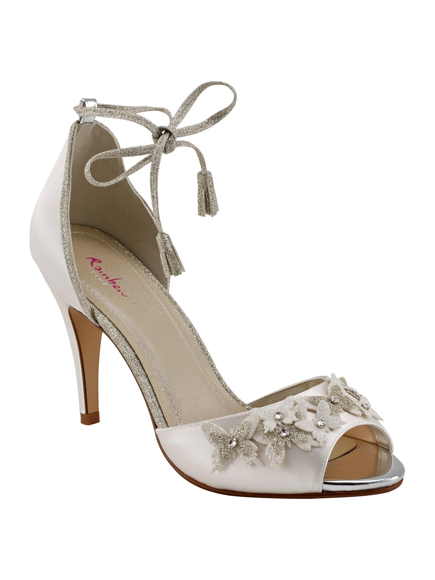 375bf5ebedd Buy Rainbow Club Zarah Peep Toe Sandals, Ivory, 3 Online at johnlewis.com  ...