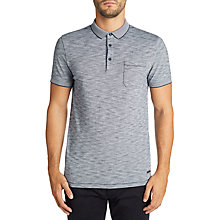 Buy BOSS Playful Short Sleeve Polo Shirt, Dark Blue Online at johnlewis.com