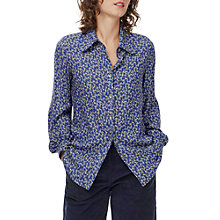 Buy Brora Metallic Floral Blouse Online at johnlewis.com