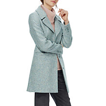 Buy Brora Marl Tweed Coat, Nimbus Online at johnlewis.com