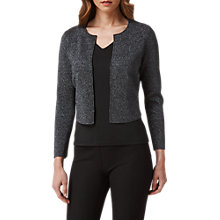 Buy L.K. Bennett Sparkly Cardigan, Gunmetal Online at johnlewis.com