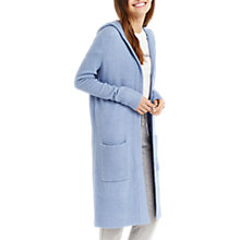 Buy Oasis Edge to Edge Cardigan, Mid Blue Online at johnlewis.com
