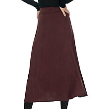 Buy Brora Fine Stripe Skirt, Tabacco Online at johnlewis.com