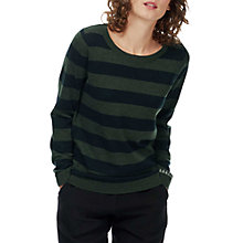 Buy Brora Merino Wool Blend Stripy Jumper Online at johnlewis.com