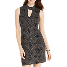 Buy Oasis Deco Glitterball Dress, Black/Multi Online at johnlewis.com