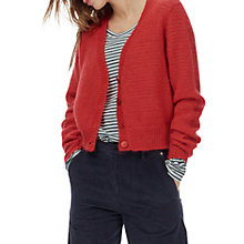 Buy Brora Mohair Textured V-Neck Cardigan Online at johnlewis.com