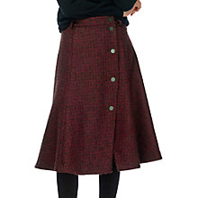 Buy Brora Textured Wool Skirt, Auburn Online at johnlewis.com