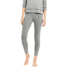 Buy Mint Velvet Lounge Leggings, Pale Grey Online at johnlewis.com