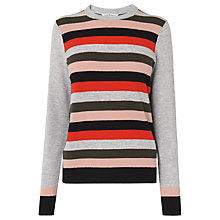 Buy L.K. Bennett Teah Striped Jumper, Multi Online at johnlewis.com
