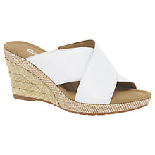 Buy Gabor Purpose Wide Fit Wedge Heeled Sandals Online at johnlewis.com