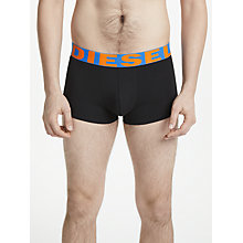 Buy Diesel Branded Waistband Briefs, Pack of 3, Orange/Yellow/Red Online at johnlewis.com