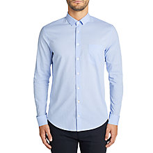 Buy BOSS Casual Epop Printed Casual Shirt, Open Blue Online at johnlewis.com