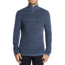 Buy BOSS Kratix Half Zip Funnel Neck Jumper Online at johnlewis.com
